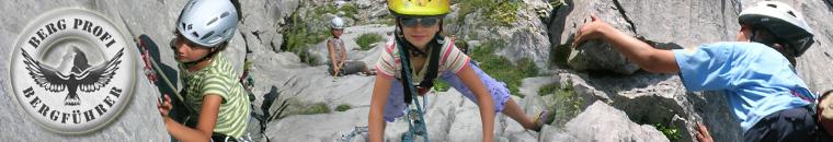 Klettern für Familien Kletterschule Kinderklettern Familienklettern